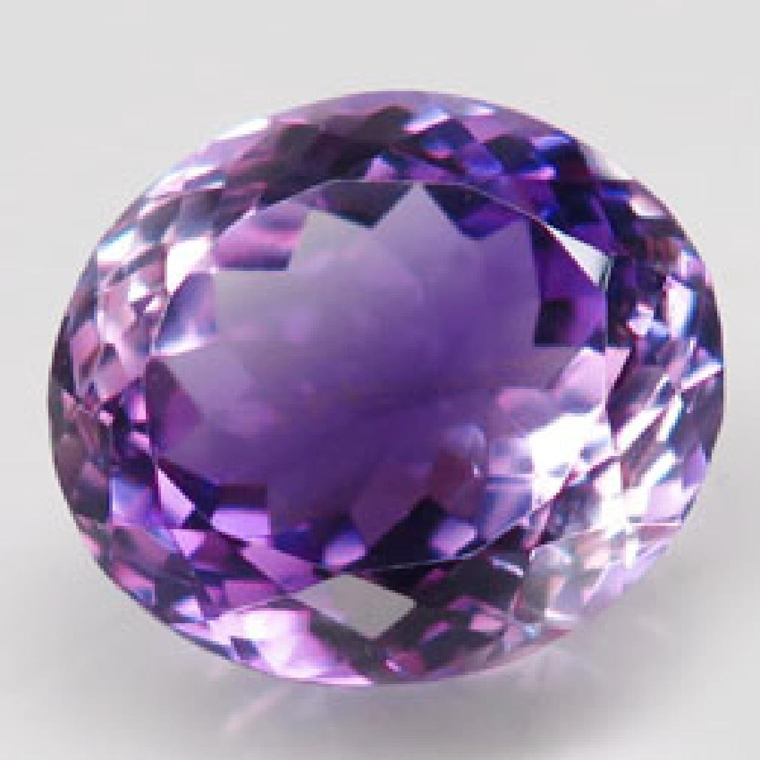 11.71ct 100%Natural Rich Purple Amethyst Unheated - 3
