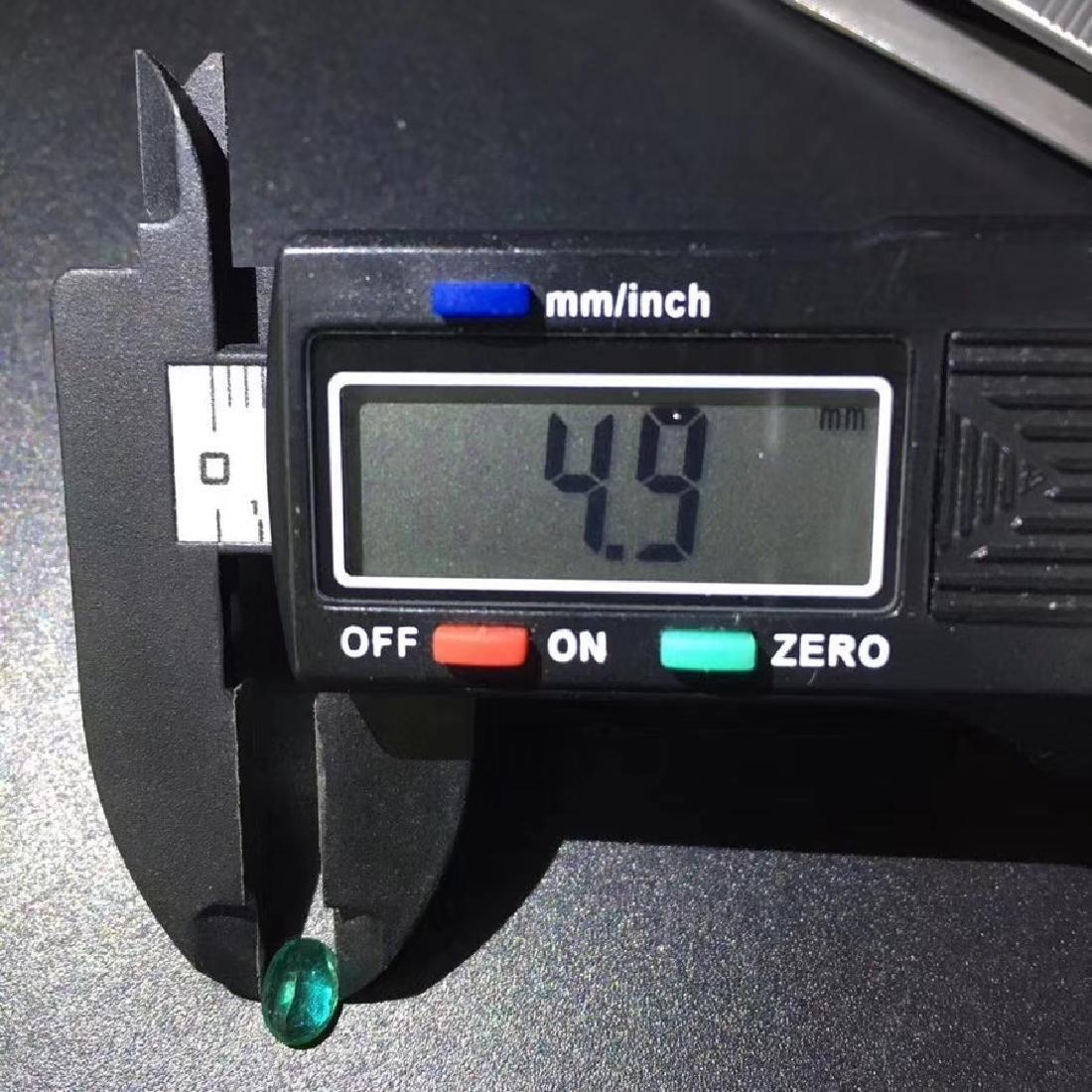 0.77 ct Emerald 4.9*6.7 mm Pear Cut - 5