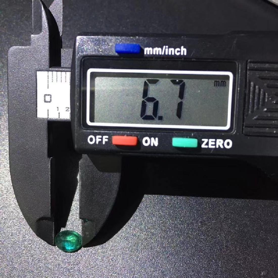 0.77 ct Emerald 4.9*6.7 mm Pear Cut - 6
