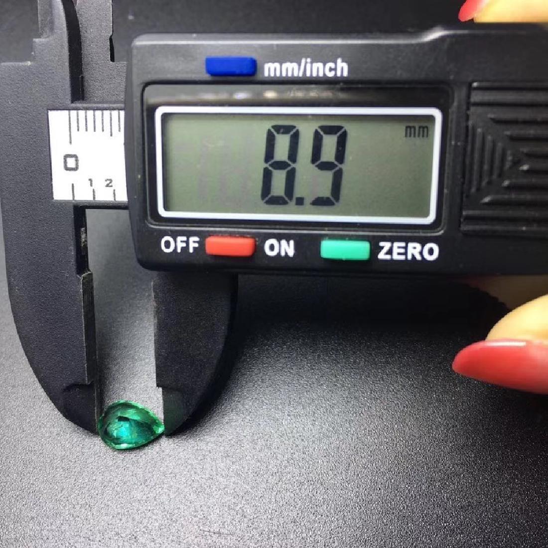 1.43 ct Emerald 6.2*8.9*4.7 mm Pear Cut - 6