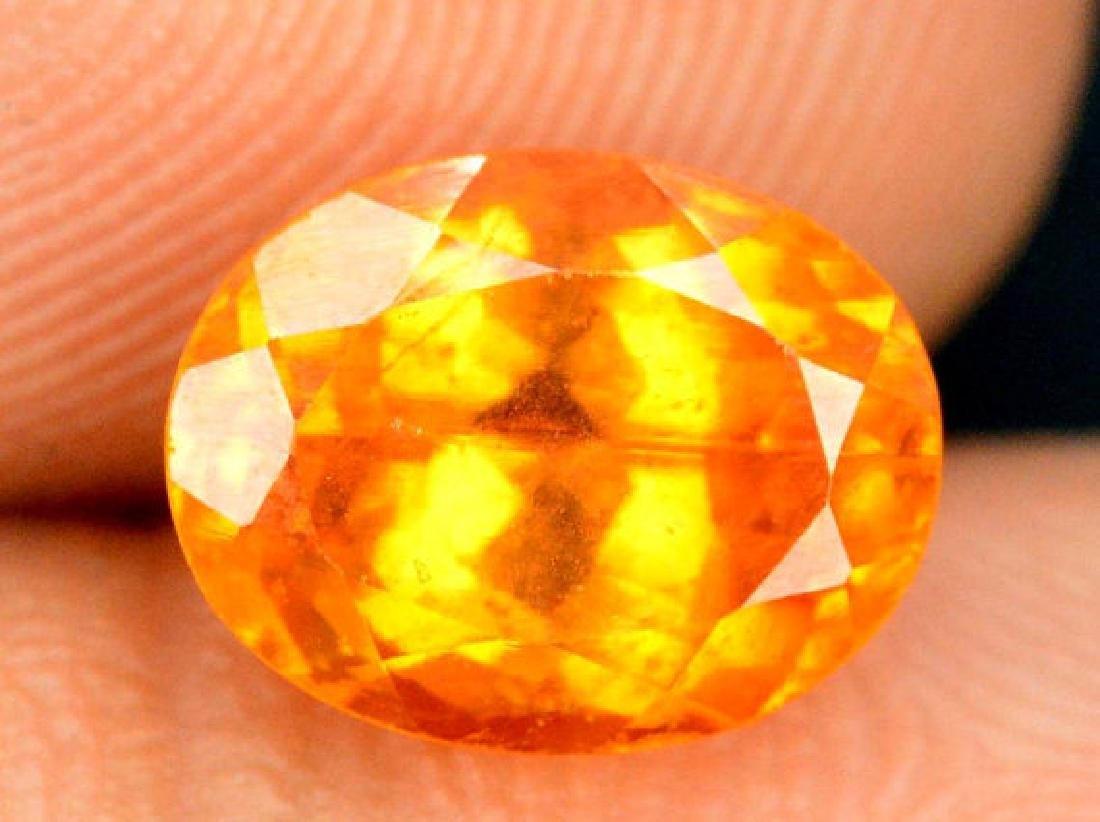 2.10 ct Fanta Color Natural Spessartite Garnet Gemstone - 2