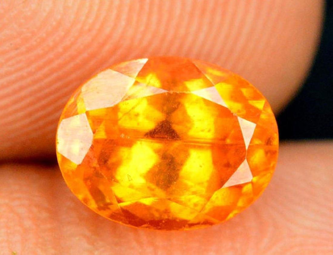 2.10 ct Fanta Color Natural Spessartite Garnet Gemstone - 3