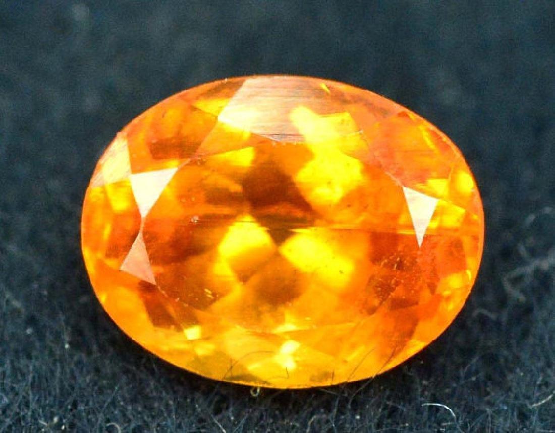 2.10 ct Fanta Color Natural Spessartite Garnet Gemstone - 4