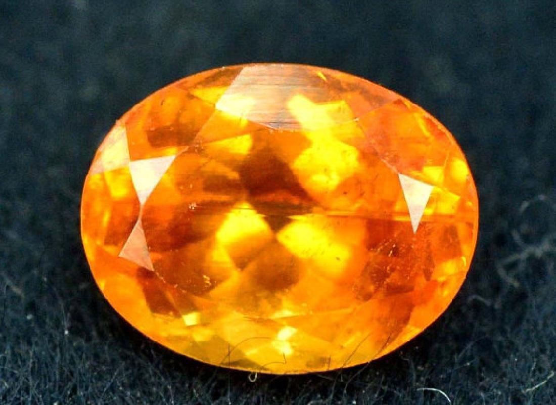 2.10 ct Fanta Color Natural Spessartite Garnet Gemstone - 5