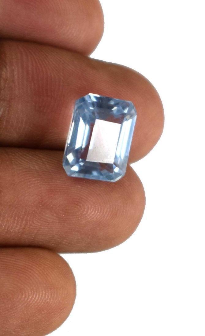 8.30 Ct Natural Aqua Blue Aquamarine IGL Certified