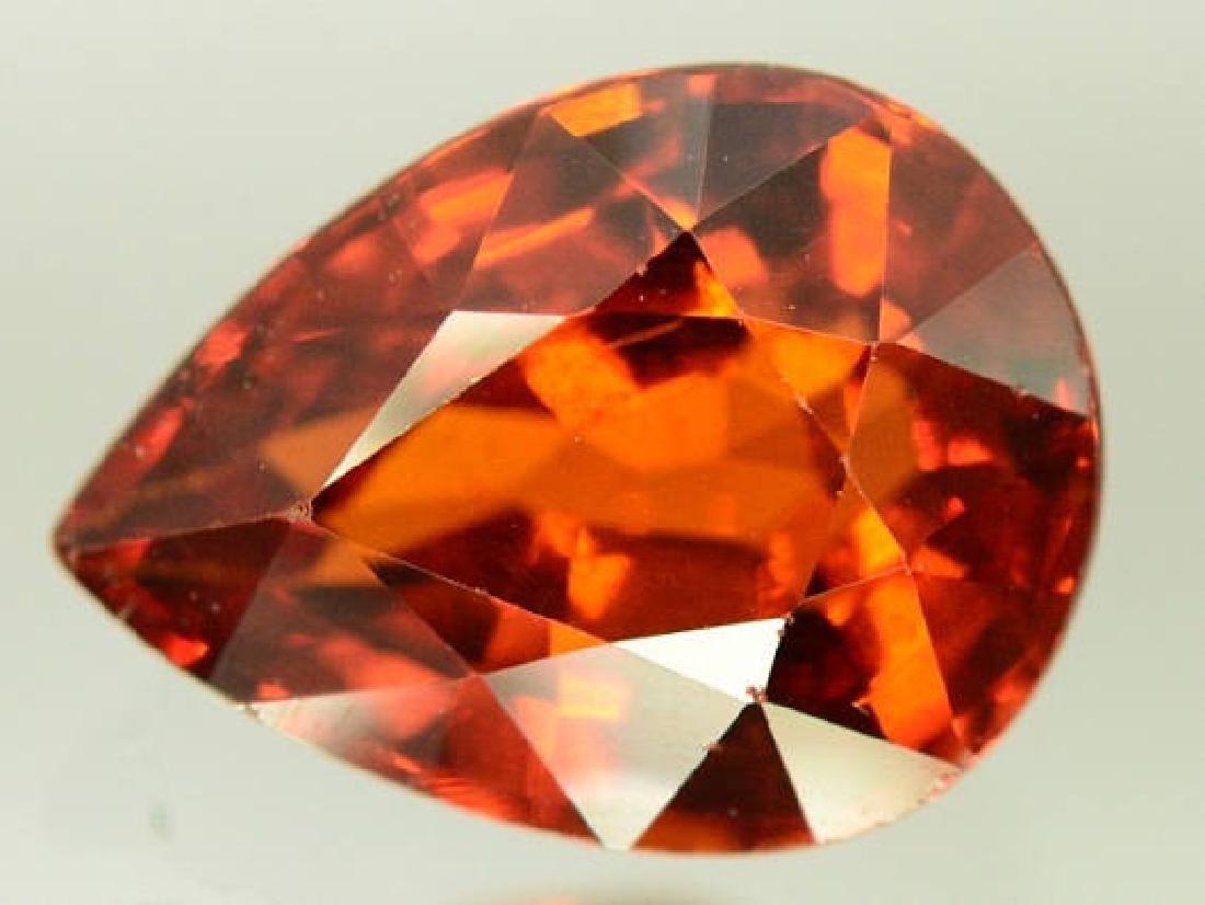 2.60 ct Natural Spessartite Garnet Loose Gemstone - 9.7