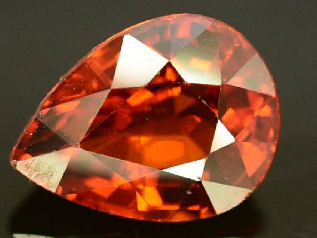2.60 ct Natural Spessartite Garnet Loose Gemstone - 9.7 - 2