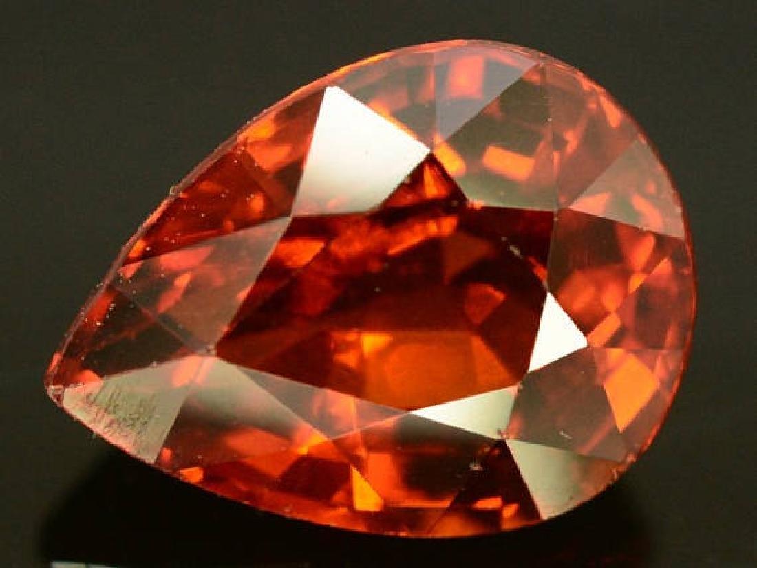 2.60 ct Natural Spessartite Garnet Loose Gemstone - 9.7 - 4