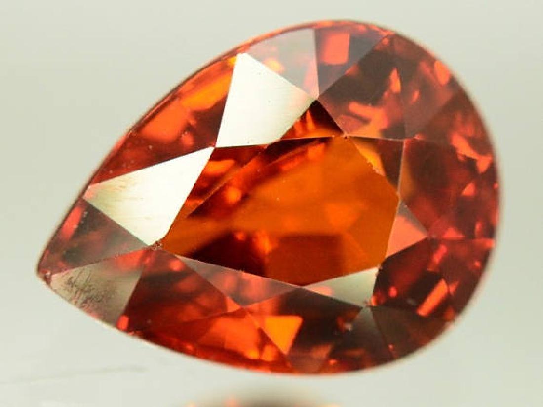 2.60 ct Natural Spessartite Garnet Loose Gemstone - 9.7 - 5