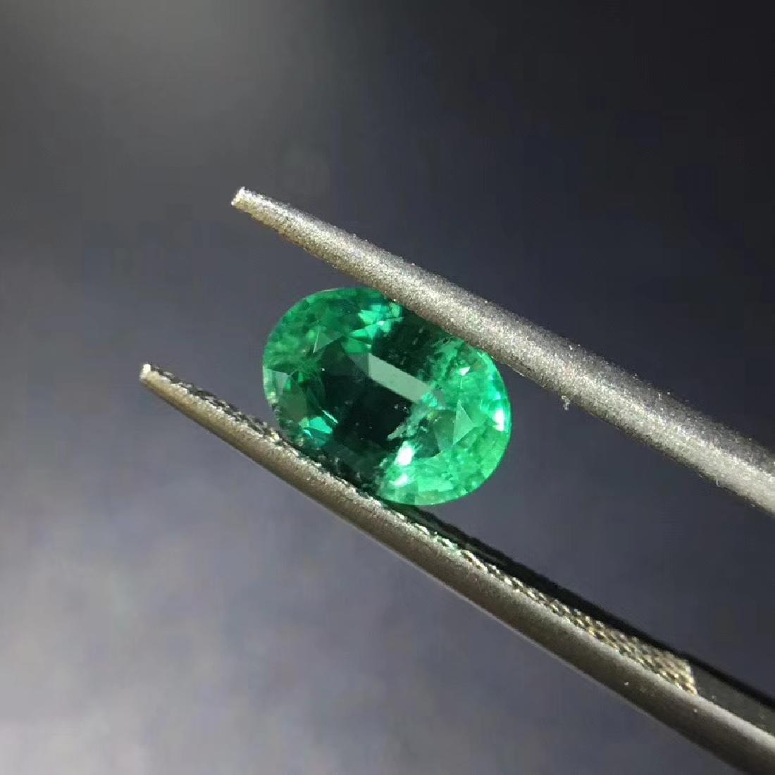 1.28 ct Emerald 6.0*8.1 mm Oval Cut - 2