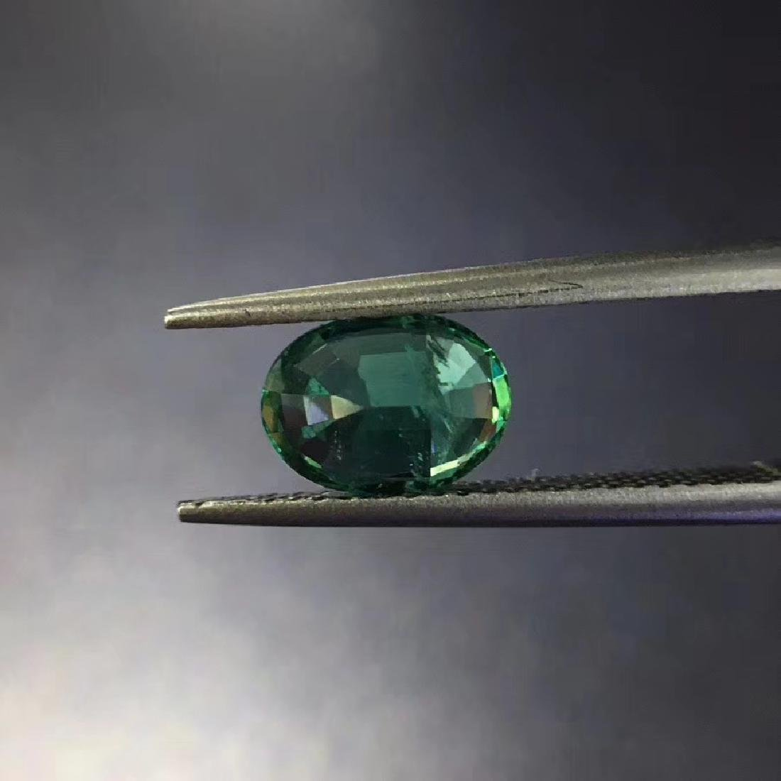 1.28 ct Emerald 6.0*8.1 mm Oval Cut - 4