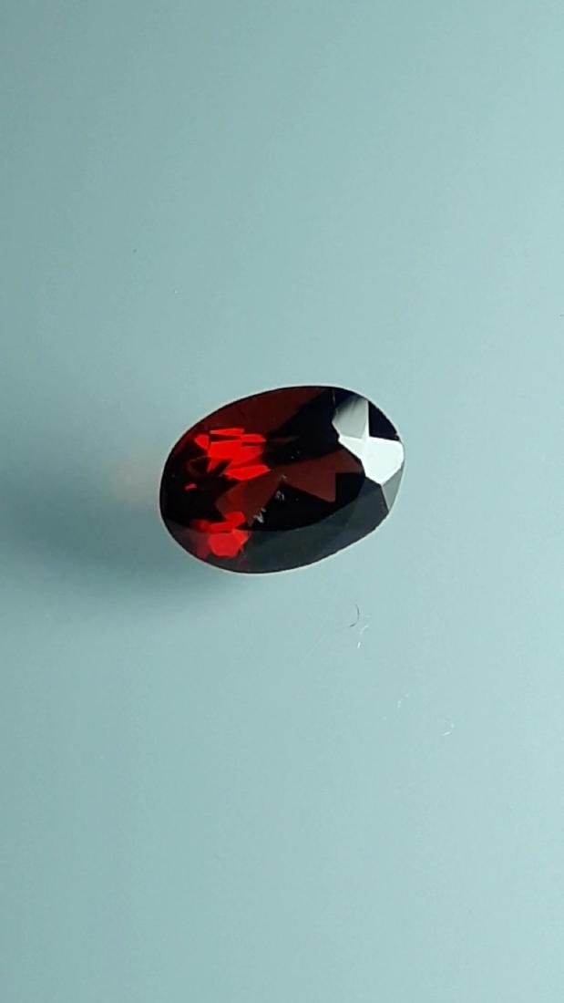 2.25ct Untreated Vivid Madagascar Red Garnet | VVS