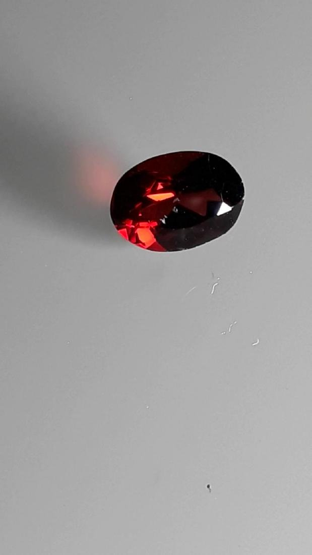 2.25ct Untreated Vivid Madagascar Red Garnet | VVS - 6