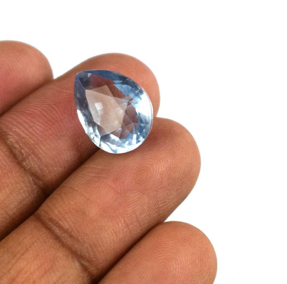 11.55 Ct Natural Aqua Blue Aquamarine IGL Certified