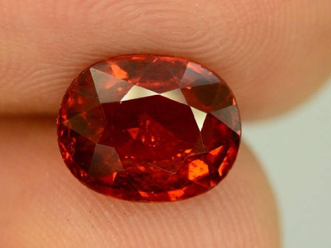 3.40 ct Natural Spessartite Garnet Loose Gemstone -