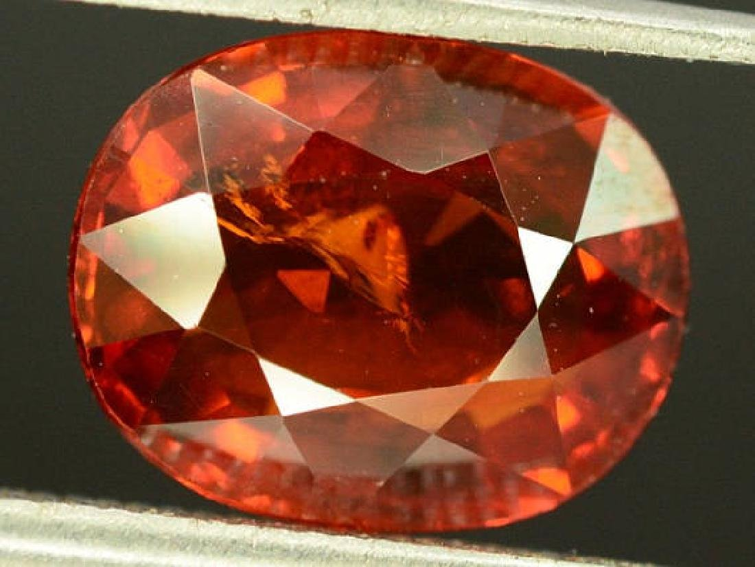 3.40 ct Natural Spessartite Garnet Loose Gemstone - - 2