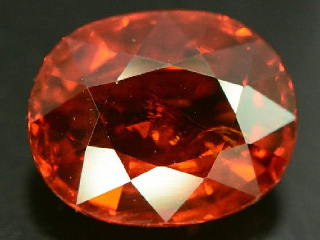 3.40 ct Natural Spessartite Garnet Loose Gemstone - - 3