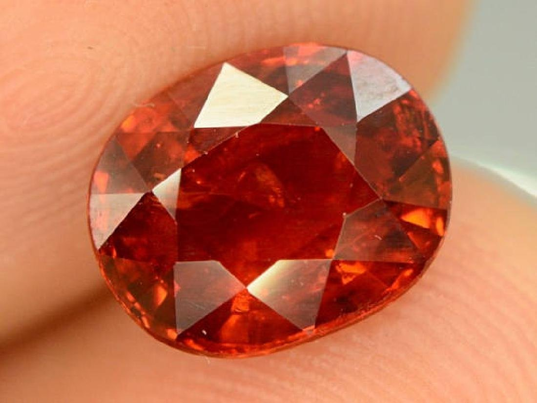 3.40 ct Natural Spessartite Garnet Loose Gemstone - - 4