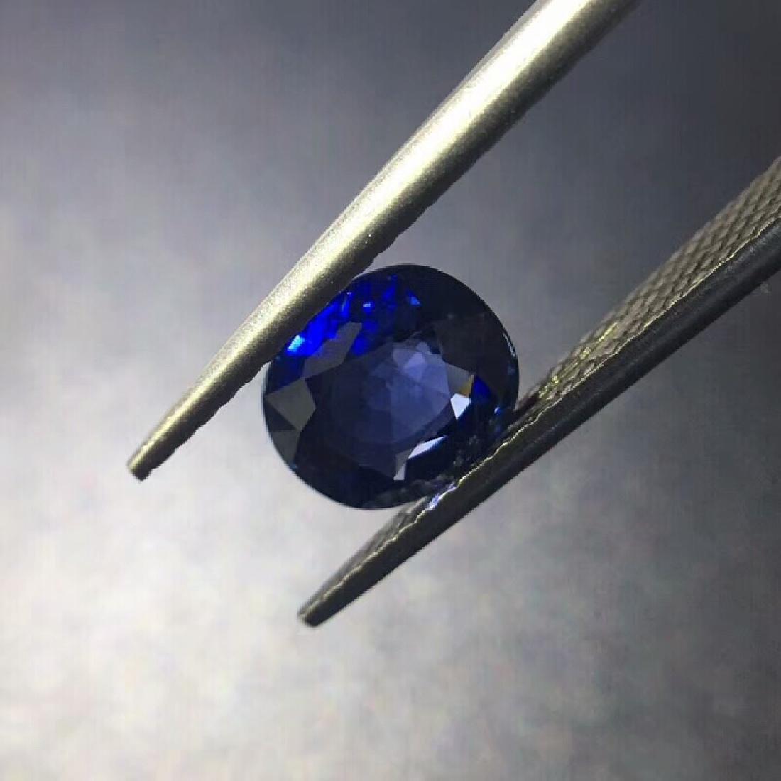1.68 ct Sapphire 7.5*6.4*3.6 mm Oval Cut - 3
