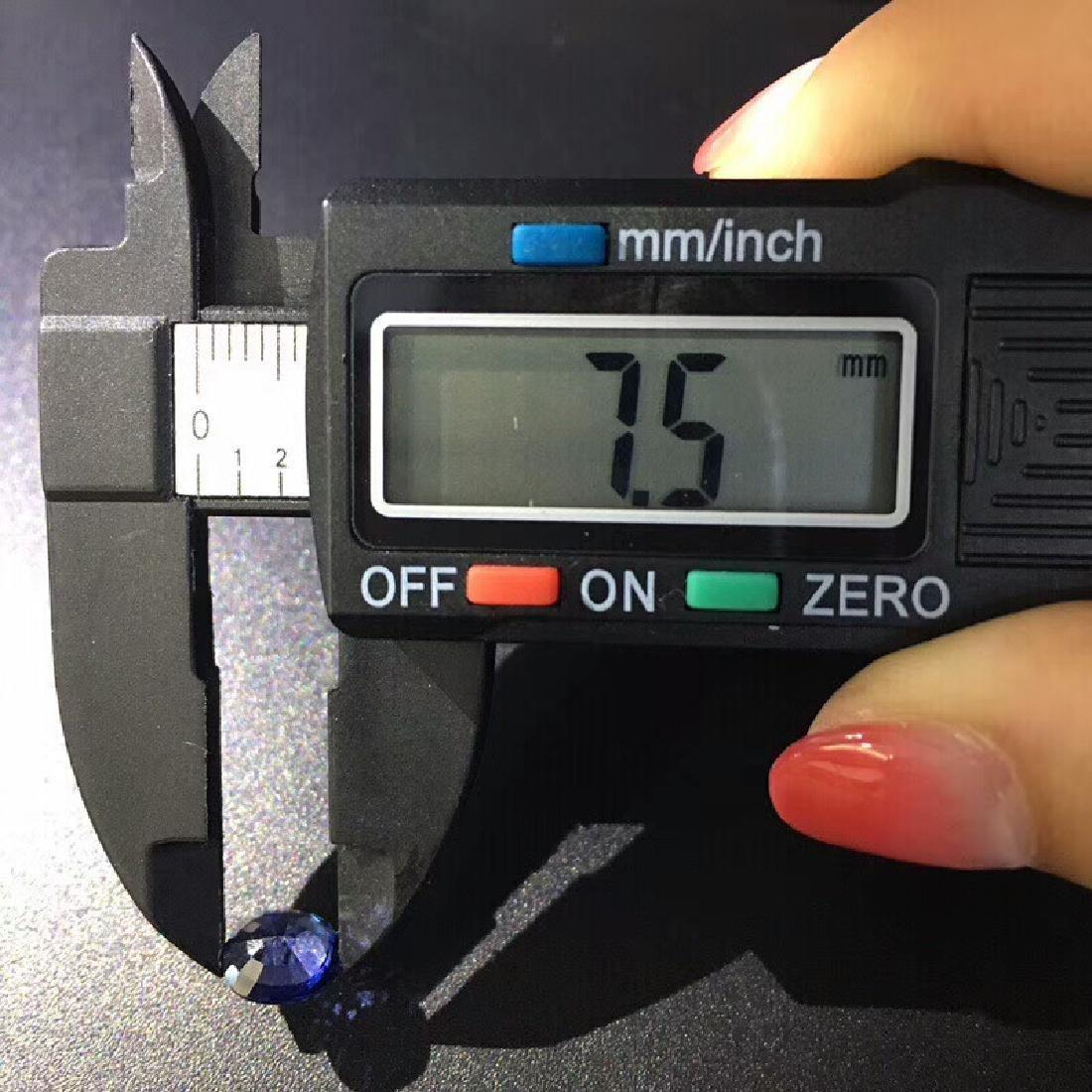 1.68 ct Sapphire 7.5*6.4*3.6 mm Oval Cut - 5