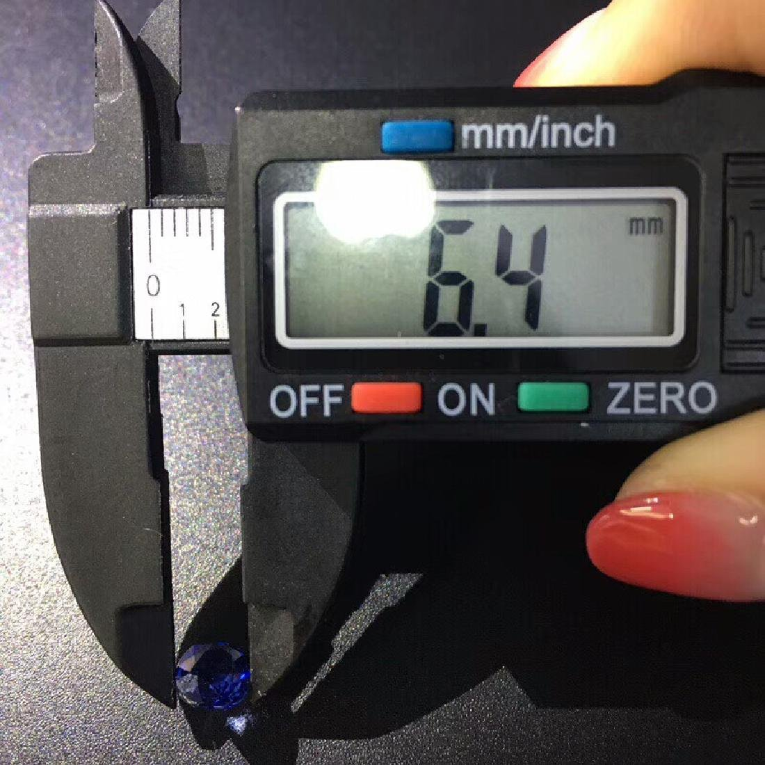 1.68 ct Sapphire 7.5*6.4*3.6 mm Oval Cut - 6