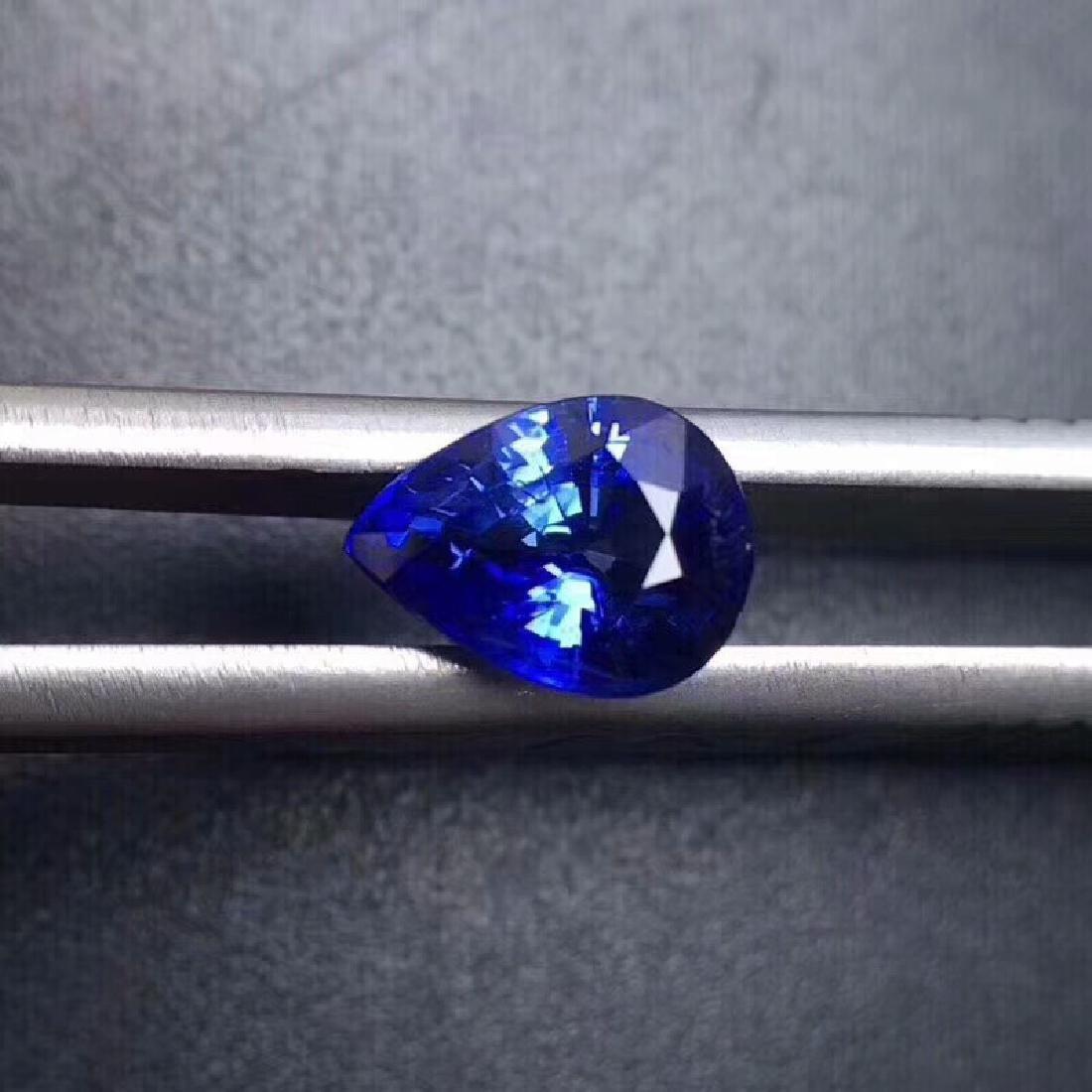 1.40 ct Sapphire 3.7*7.8*5.9 mm Oval Cut