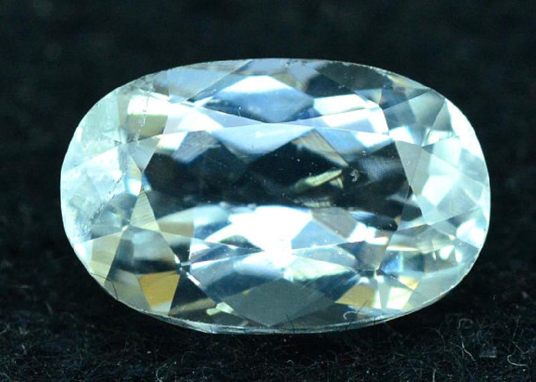 2.65 cts oval cut Untreated Aquamarine Gemstone from - 2