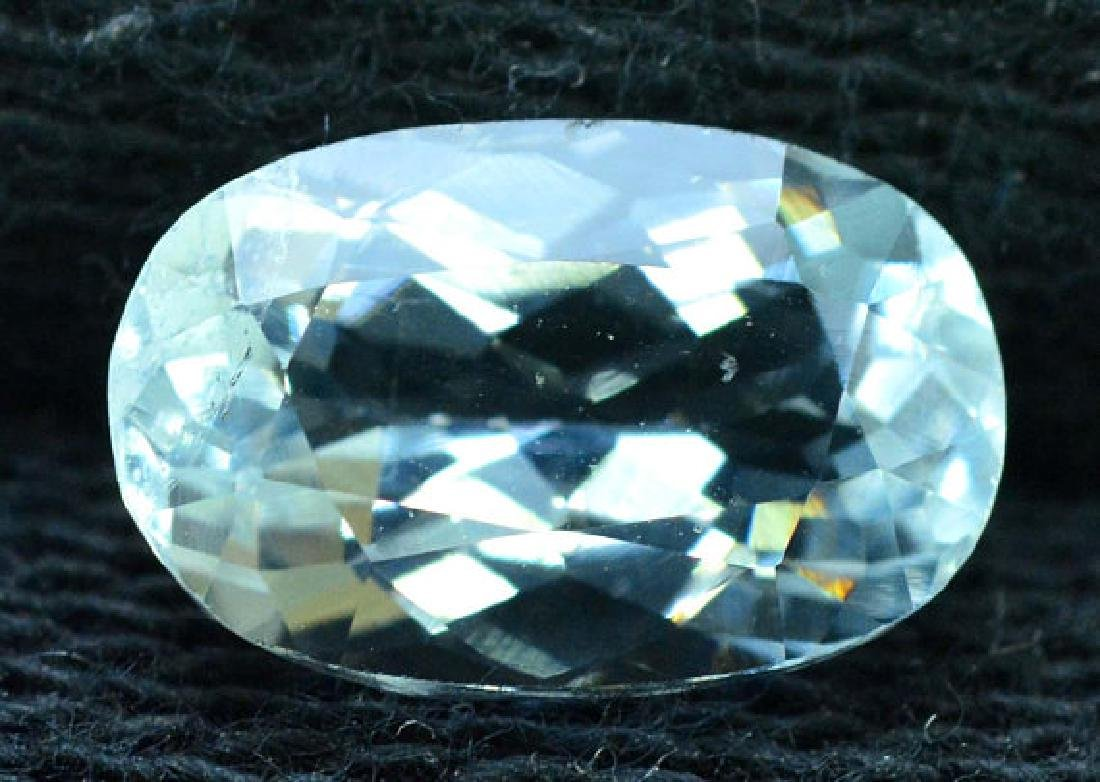 2.65 cts oval cut Untreated Aquamarine Gemstone from - 3