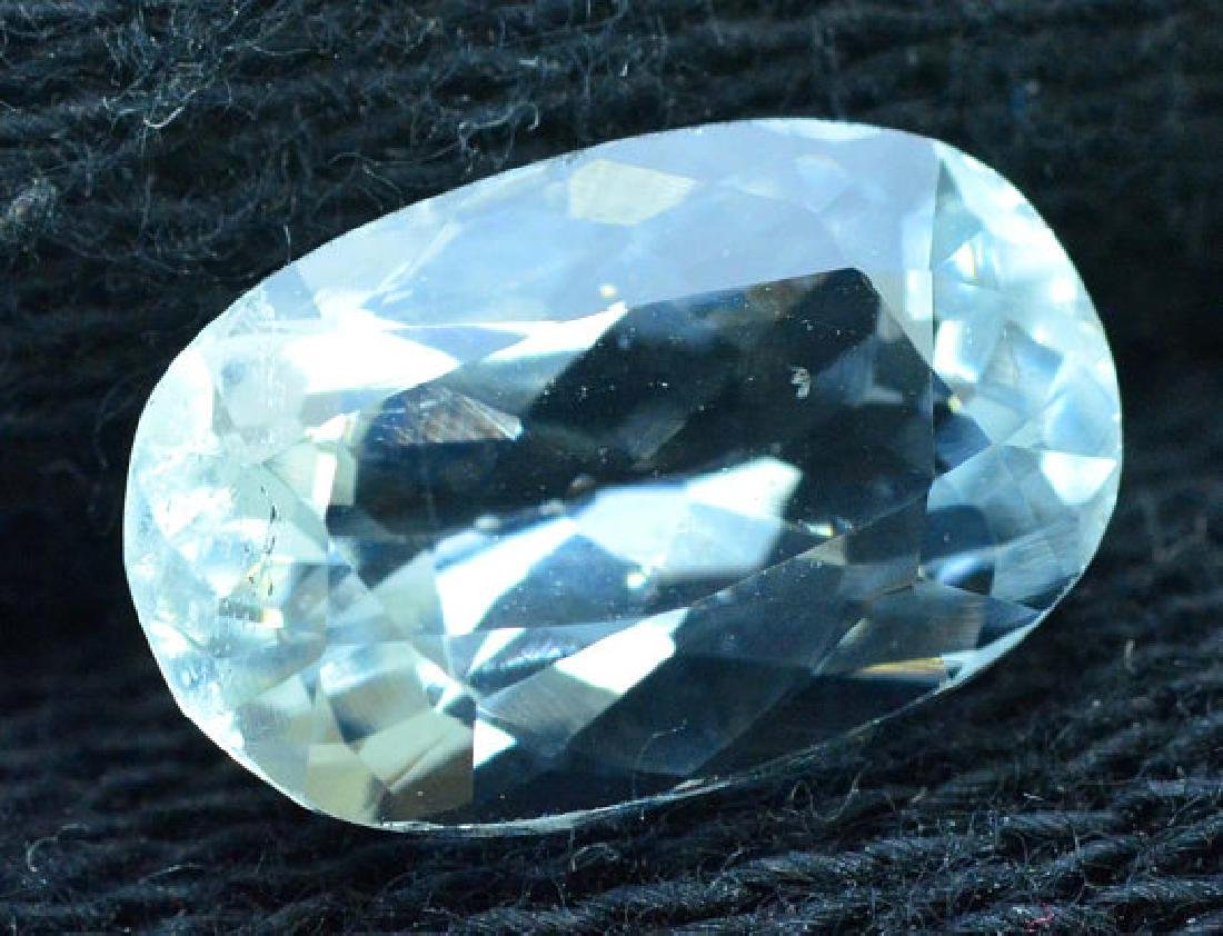 2.65 cts oval cut Untreated Aquamarine Gemstone from - 4