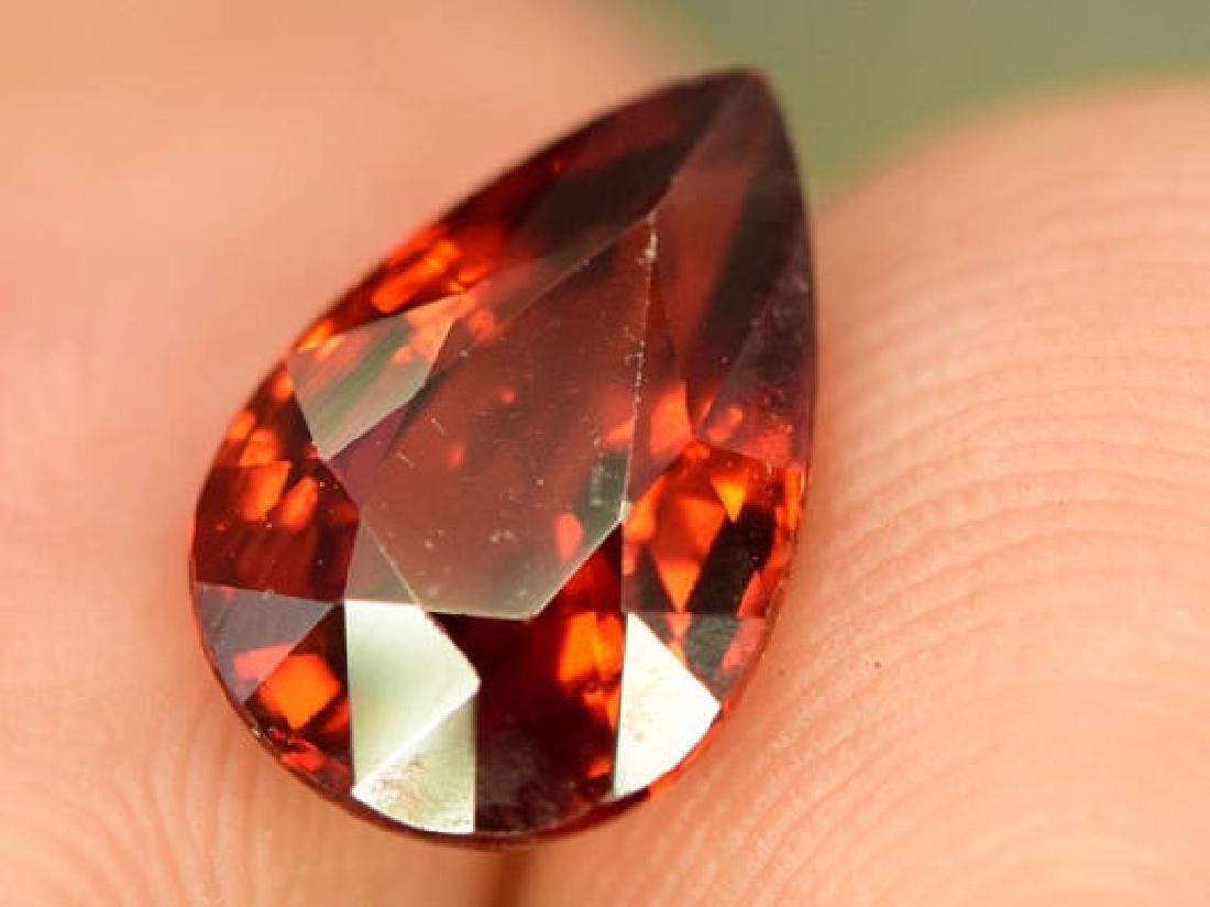 3.10 ct Natural Spessartite Garnet Loose Gemstone - - 2