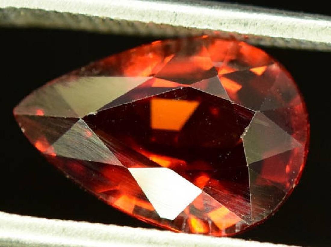 3.10 ct Natural Spessartite Garnet Loose Gemstone - - 4