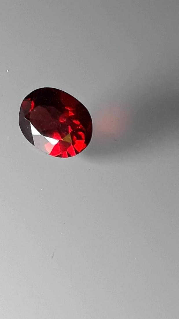 2.1ct Untreated Vivid Madagascar Red Garnet | VVS - 2