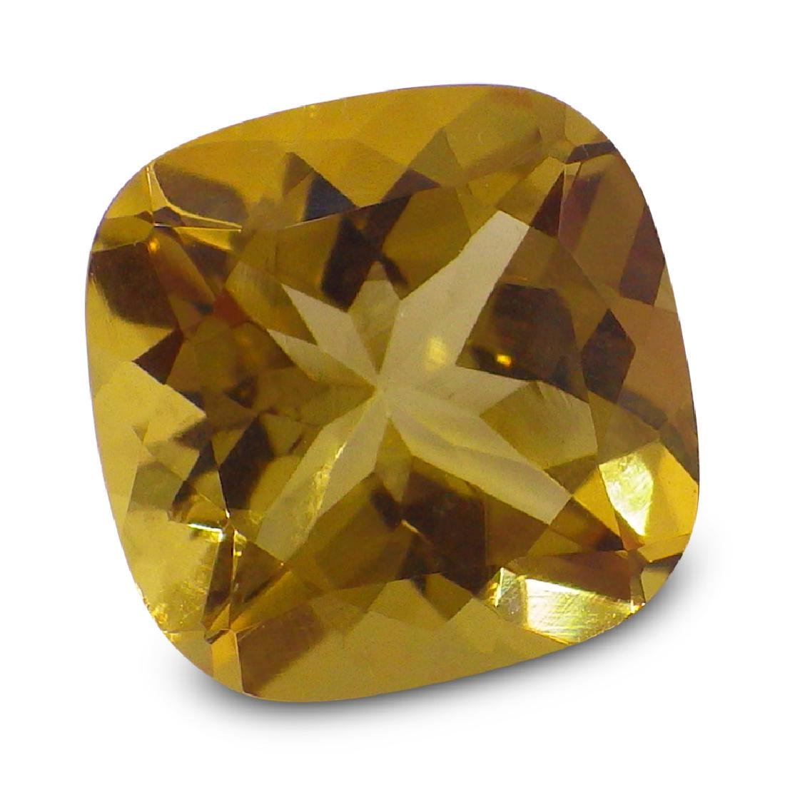 1.91 ct Square Cushion Heliodor