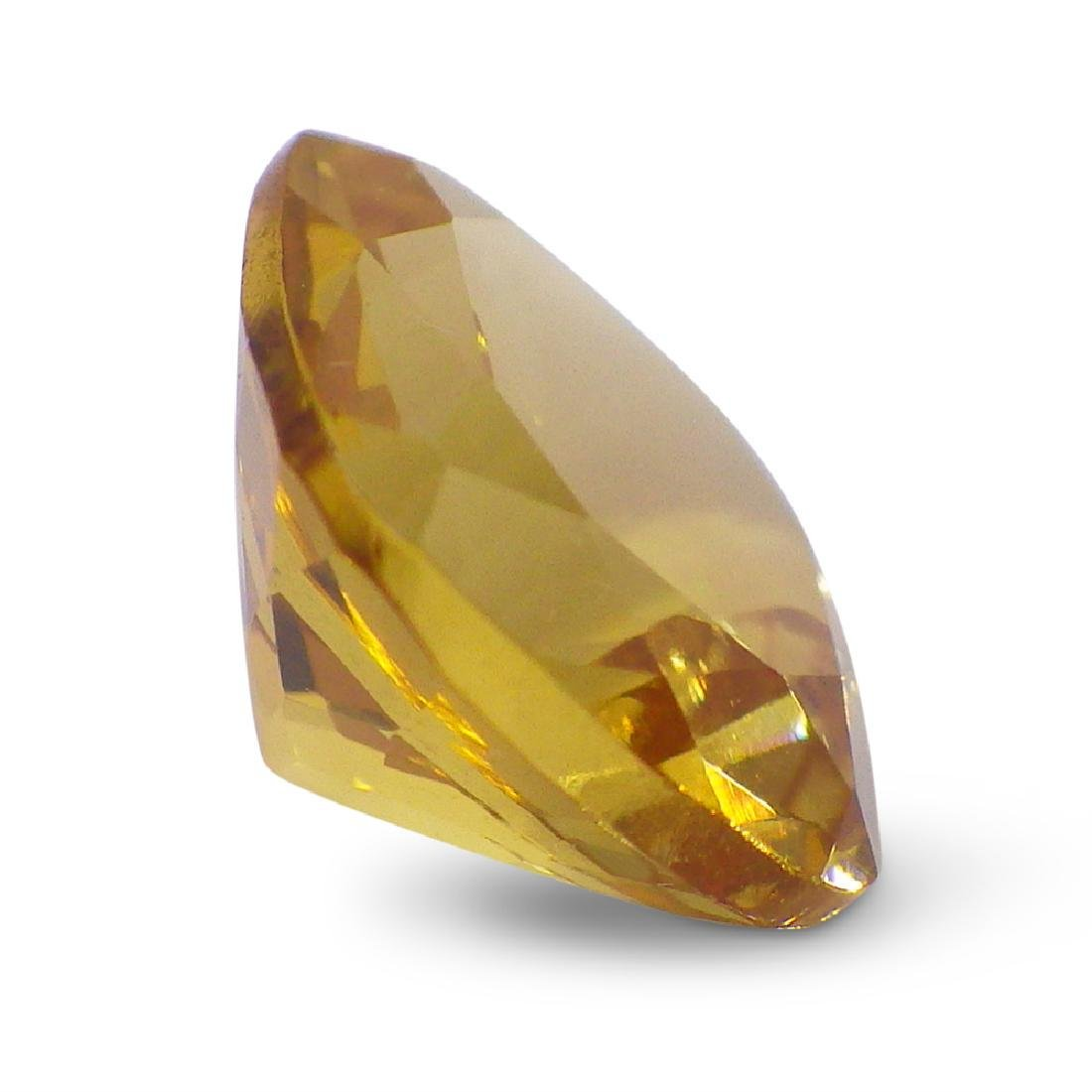 1.91 ct Square Cushion Heliodor - 4