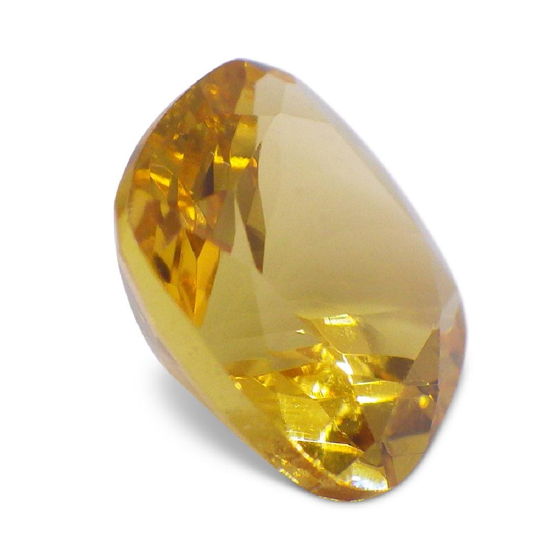 1.91 ct Square Cushion Heliodor - 5