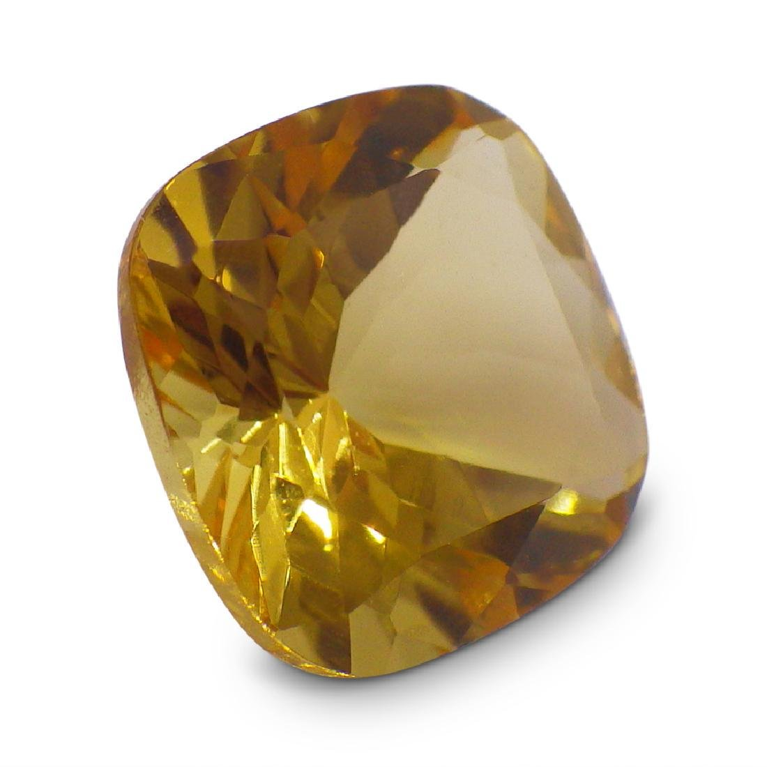 1.91 ct Square Cushion Heliodor - 6