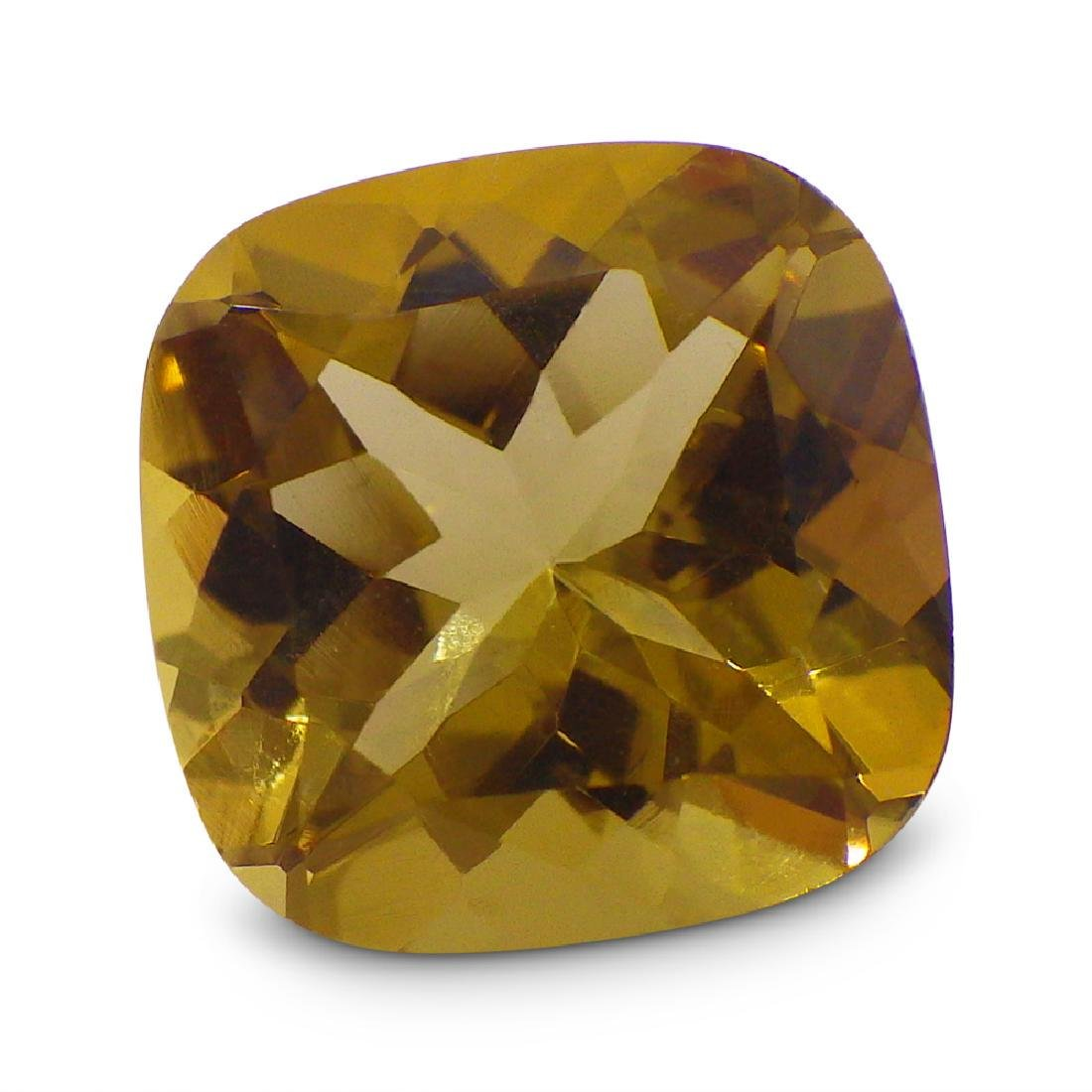 1.91 ct Square Cushion Heliodor - 7