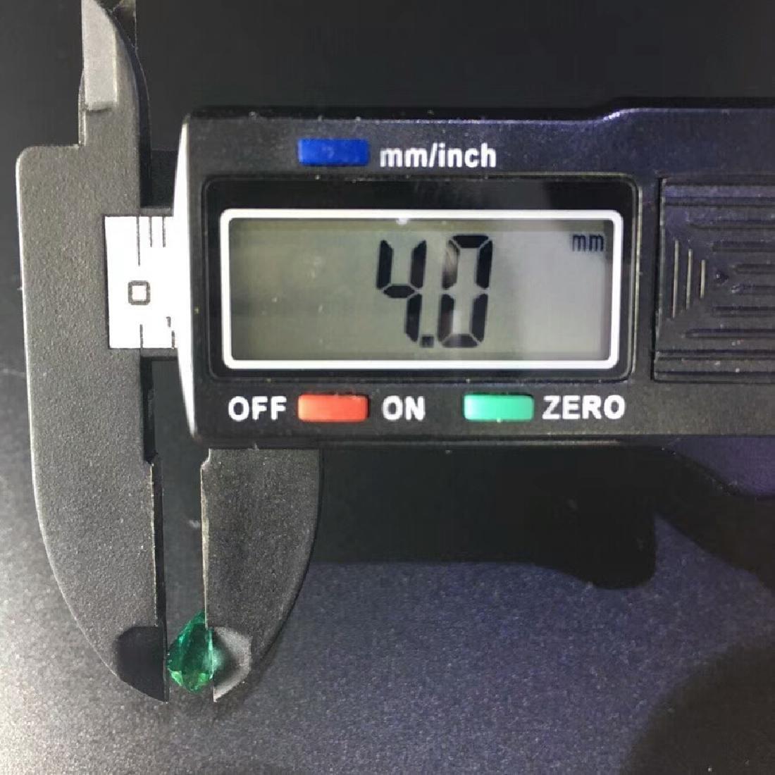 1.57 ct Emerald 6.8*9.6*4.0 mm Pear Cut - 6