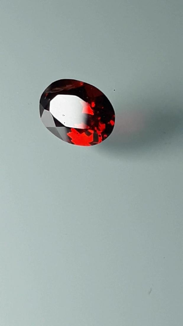 1.8ct Untreated Vivid Madagascar Red Garnet | VVS