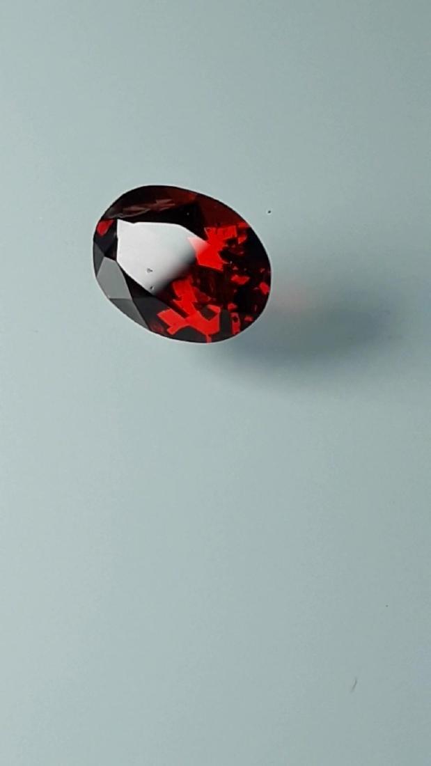 1.8ct Untreated Vivid Madagascar Red Garnet | VVS - 5