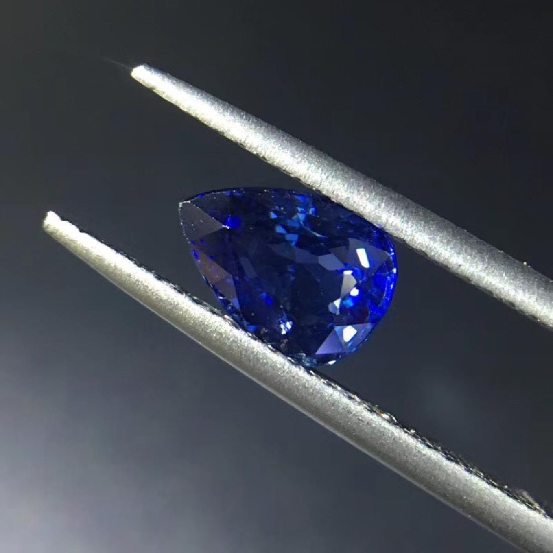 1.54 ct Sapphire 5.8*7.8*4.0 mm Pear Cut - 2