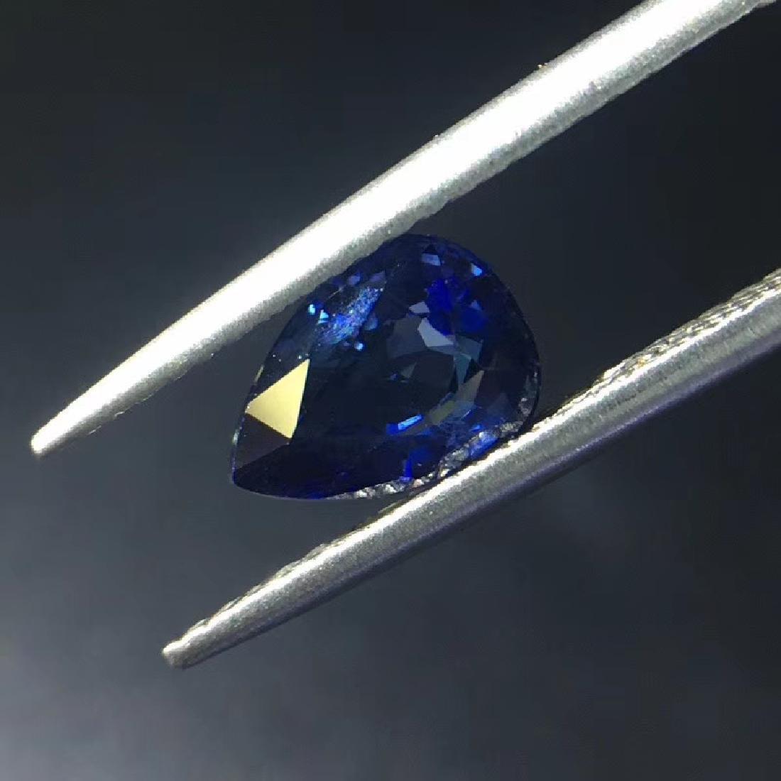 1.54 ct Sapphire 5.8*7.8*4.0 mm Pear Cut - 3