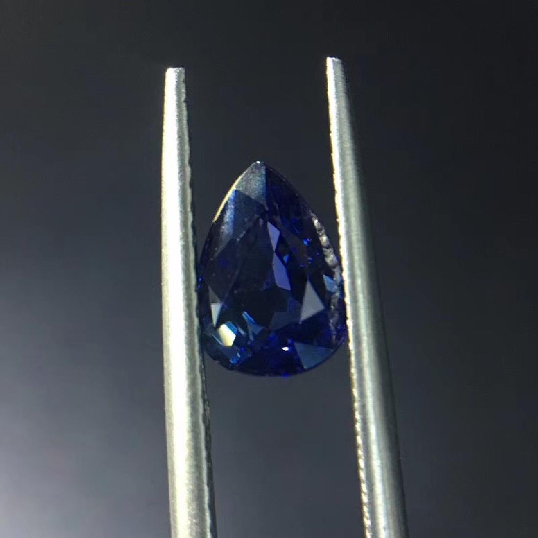 1.54 ct Sapphire 5.8*7.8*4.0 mm Pear Cut - 4