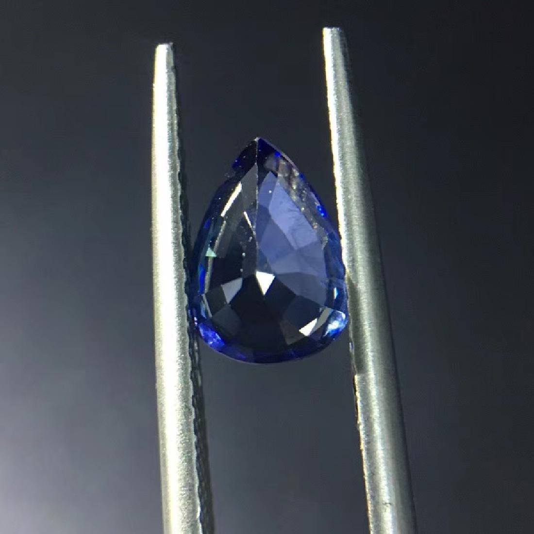 1.54 ct Sapphire 5.8*7.8*4.0 mm Pear Cut - 5