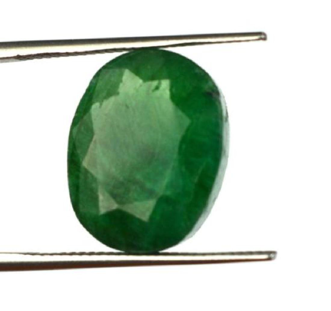 8.55 Ct Natural untreated Green Emerald