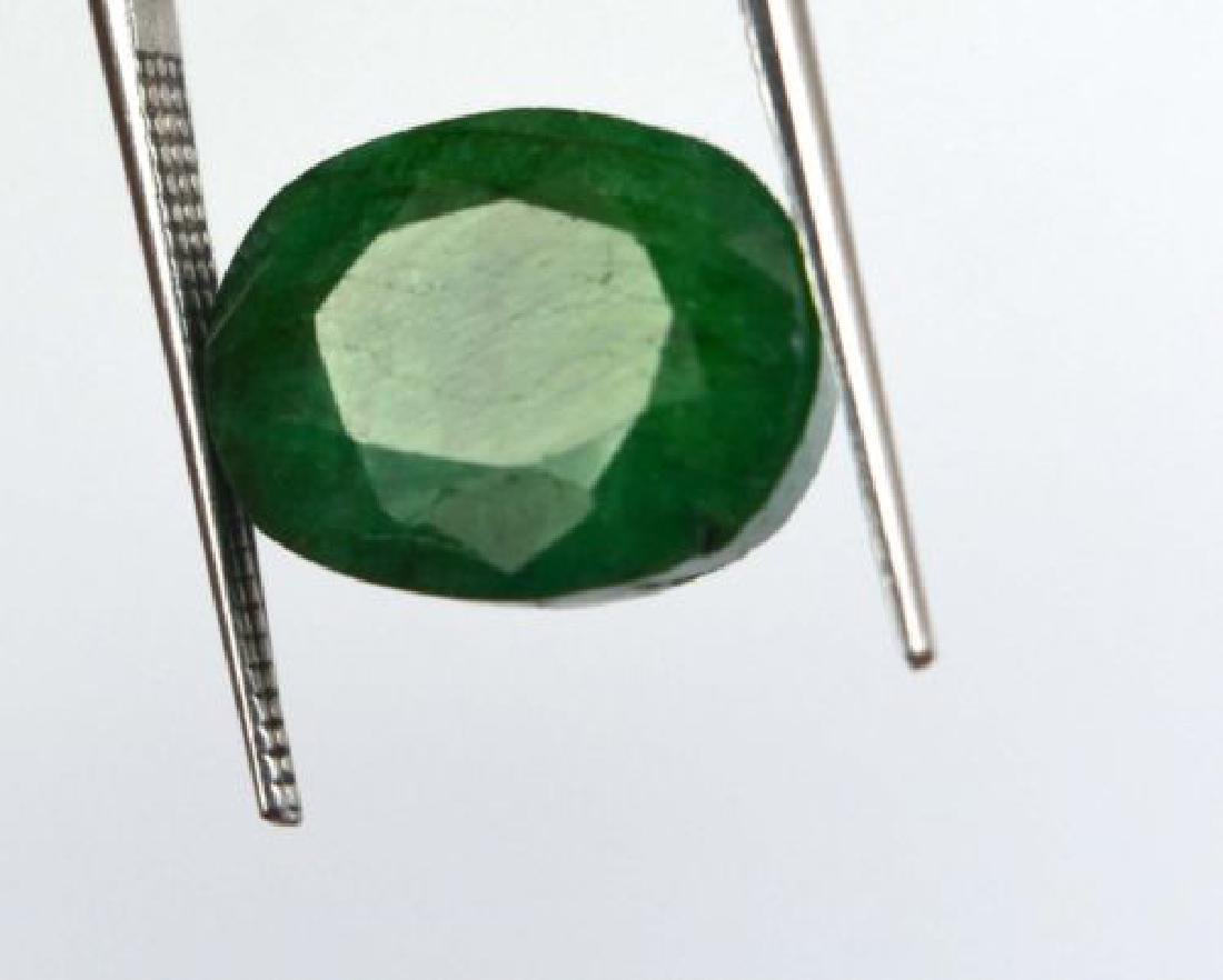 8.55 Ct Natural untreated Green Emerald - 2