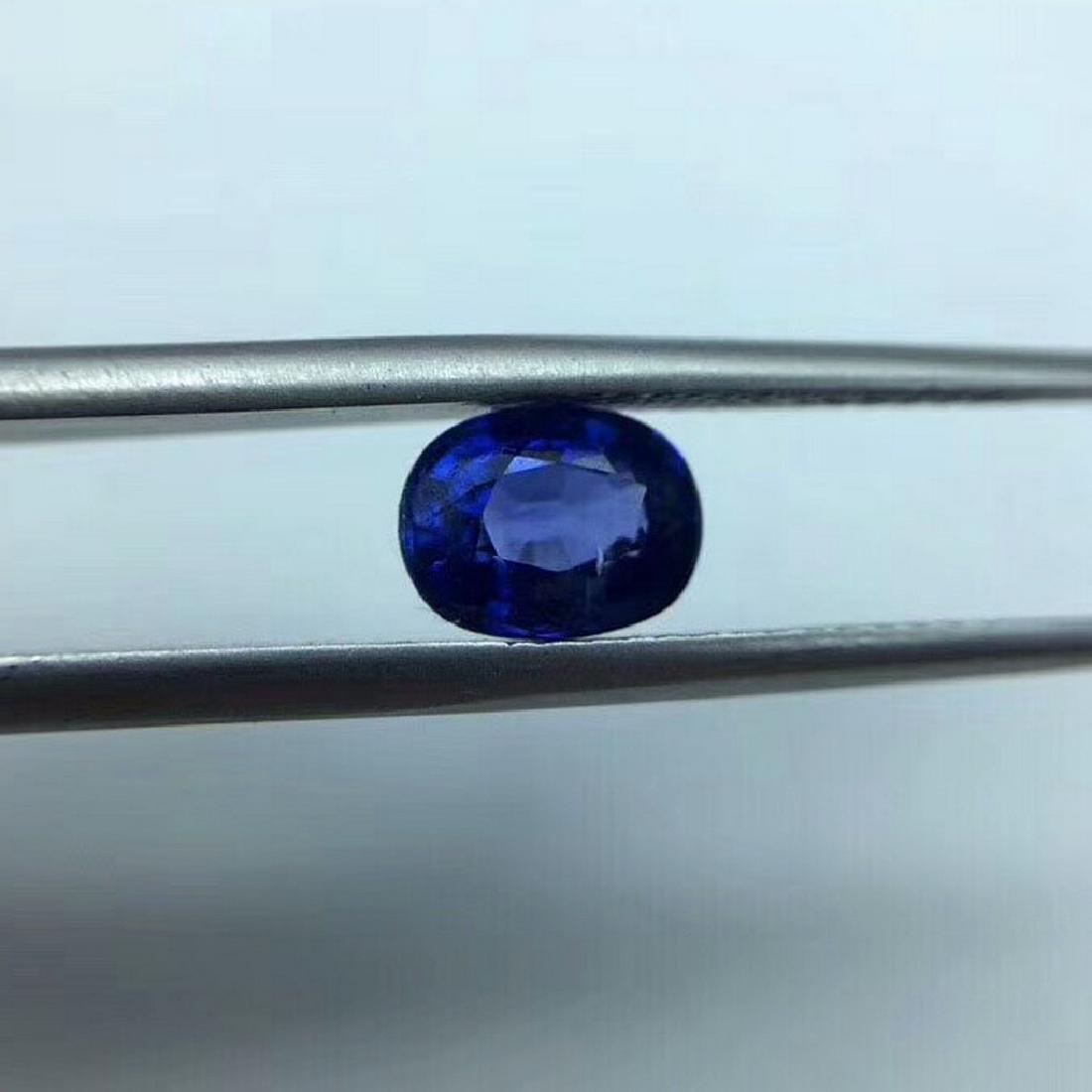 1.56 ct Sapphire 5.6*7.3 mm Oval Cut