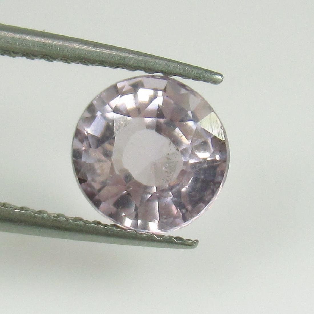 1.86 Ctw Natural Loose Pink Spinel Exellent Round cut