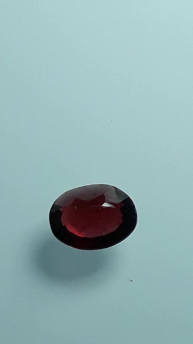 1.6ct Untreated Vivid Madagascar Red Garnet | VVS - 2