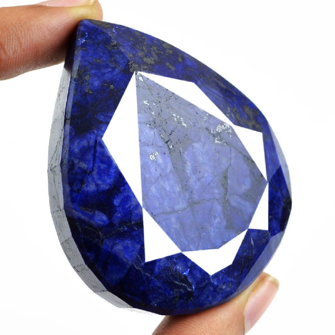 Sapphire Pear Shape Gem - 2